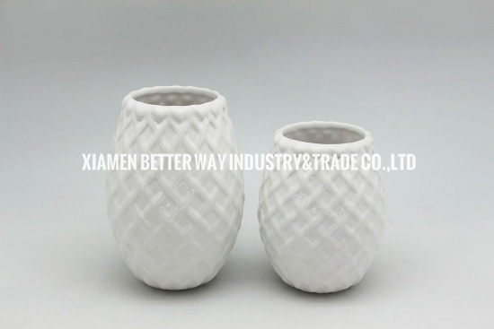 ceramic pottery for gardens